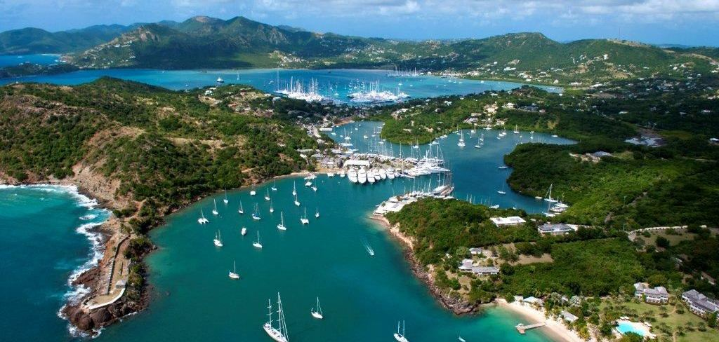 /English harbour Antigua Sailing Week - Photo Credit Ted Martin