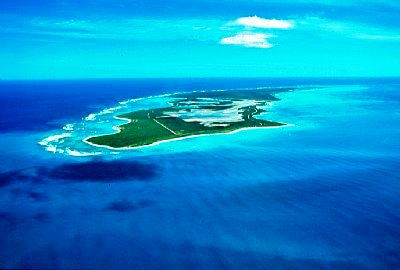 Aneganda Island View From The Air