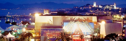 Cannes - Palais Des Festivales by night