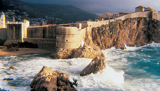 Dubrovnik Wall - Photo credit Dubrovnik Tourism Board