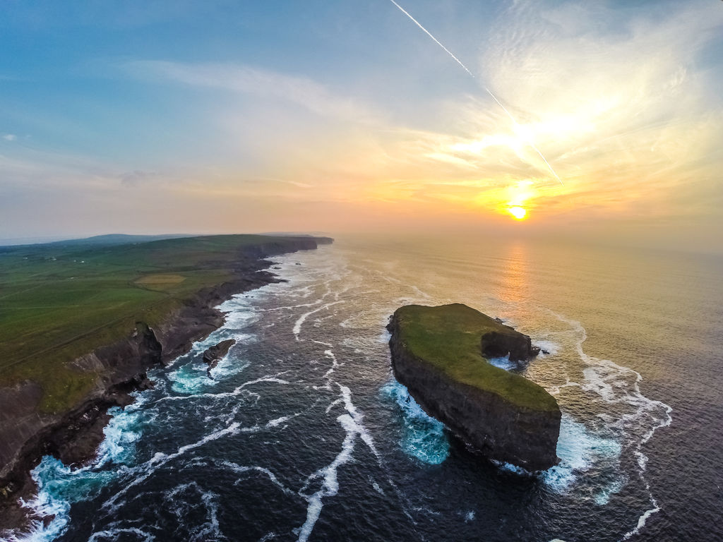 Healy-s Island at sunset - captured by Raymond Fogarty during his 2014 Wild Atlantic Way trip - Courtesy of DiscoverIreland