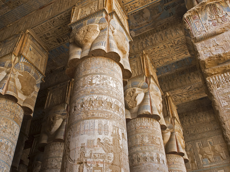 Temple of Dendera - Egypt - Image Credit to Egypt Tourism Board