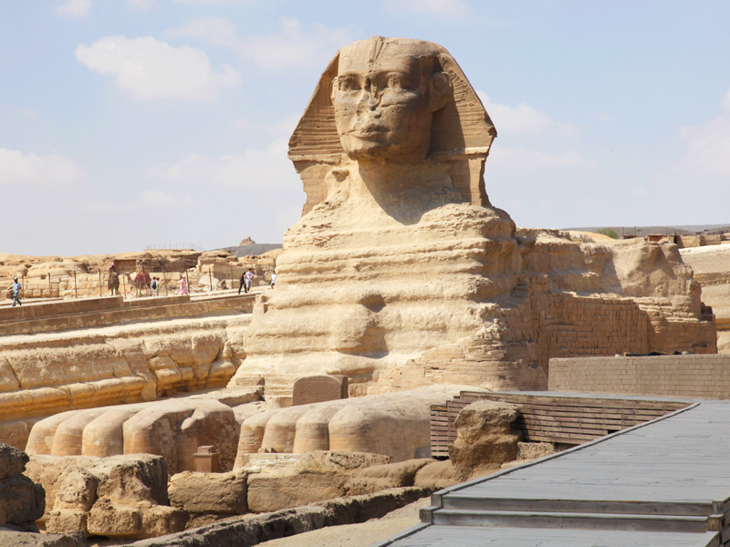 The Sphinx - Image credit to Egypt Tourism Board