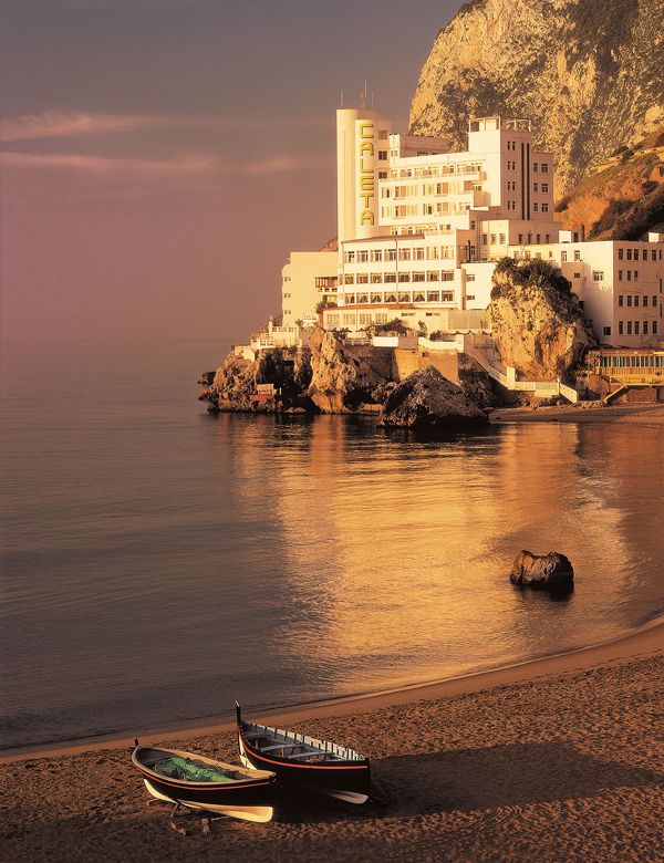 Gibraltar - Calatela Hotel - Beach - Image credit to Gibraltart Tourism Board