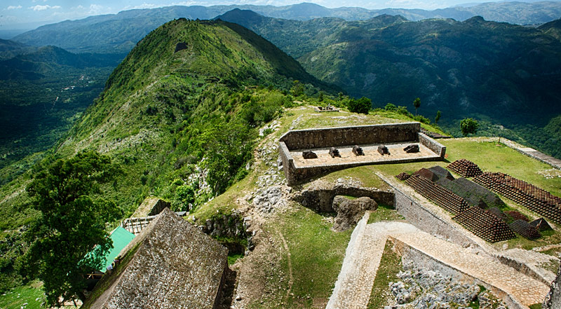 La Citadelle Henry near Cap Haitien - Photo Heiti Tourism Board