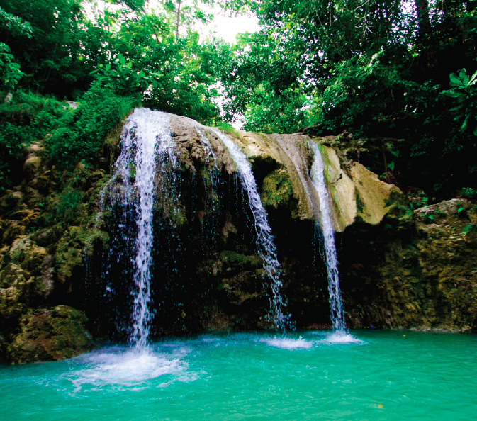 Tuyac Waterfall - Photo credit to Haiti Tourism Board