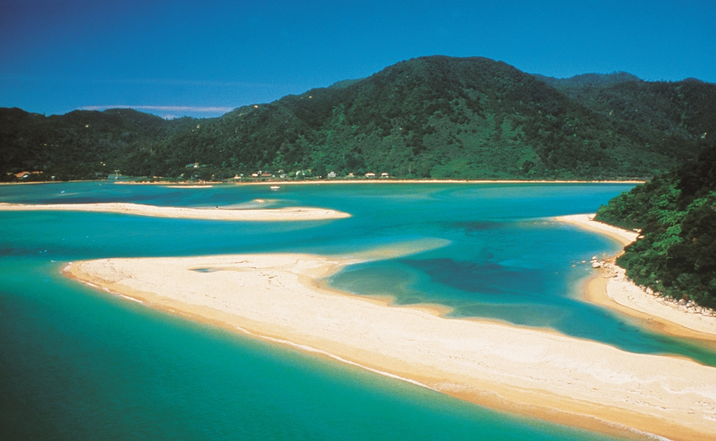 Awaroa Inlet - Abel Tasman National Park - Image credit to Tourism New Zealand - Image courtesy of Tourism New Zealand