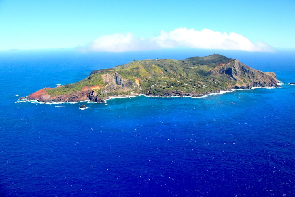 Pitcairn Island - Photo credit RSPB