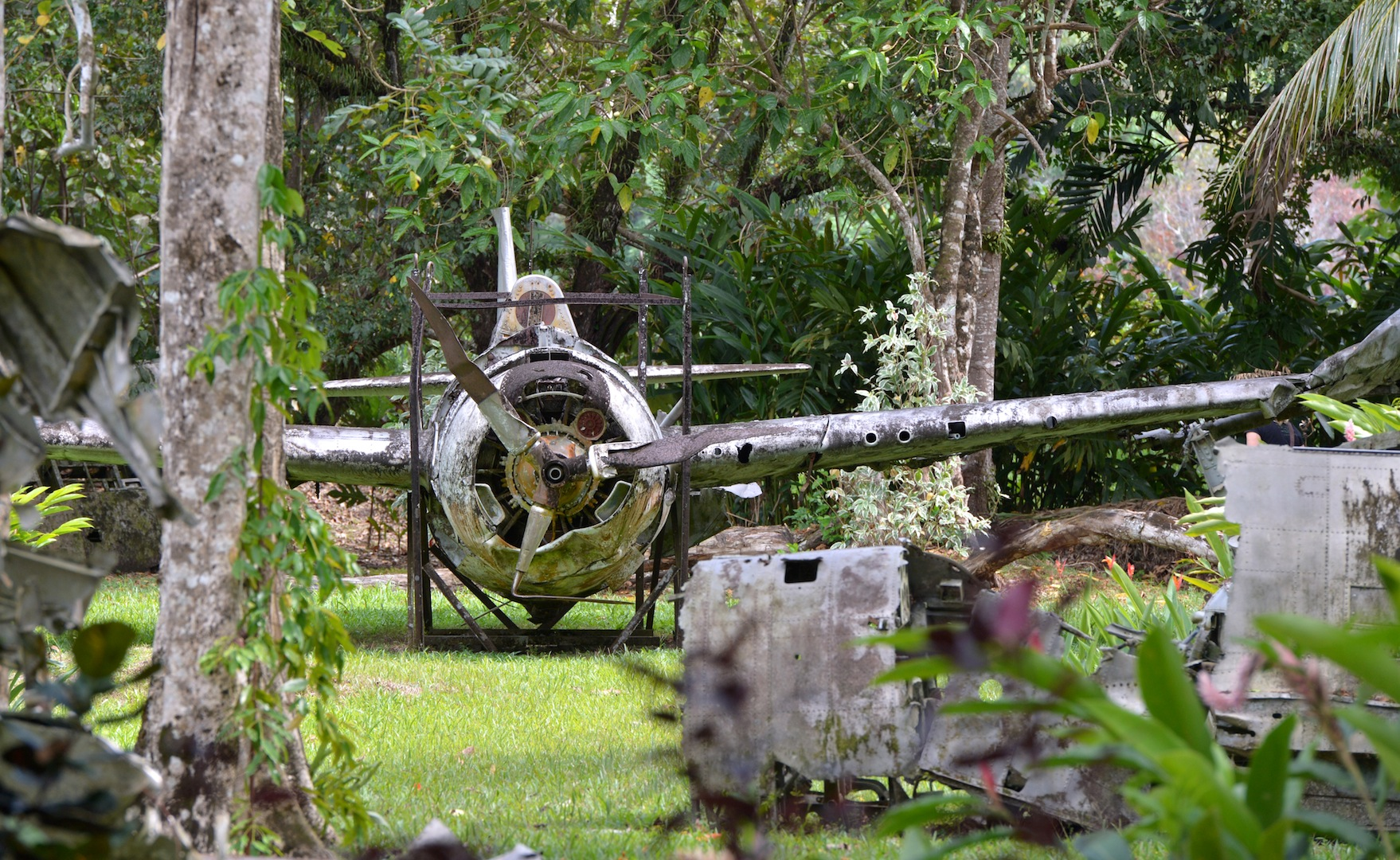 USFighter Aircraft – Vilu Open Air War Museum, Honiara - Photo credit to Solomon Islands Visitors Bureau (SIVB)