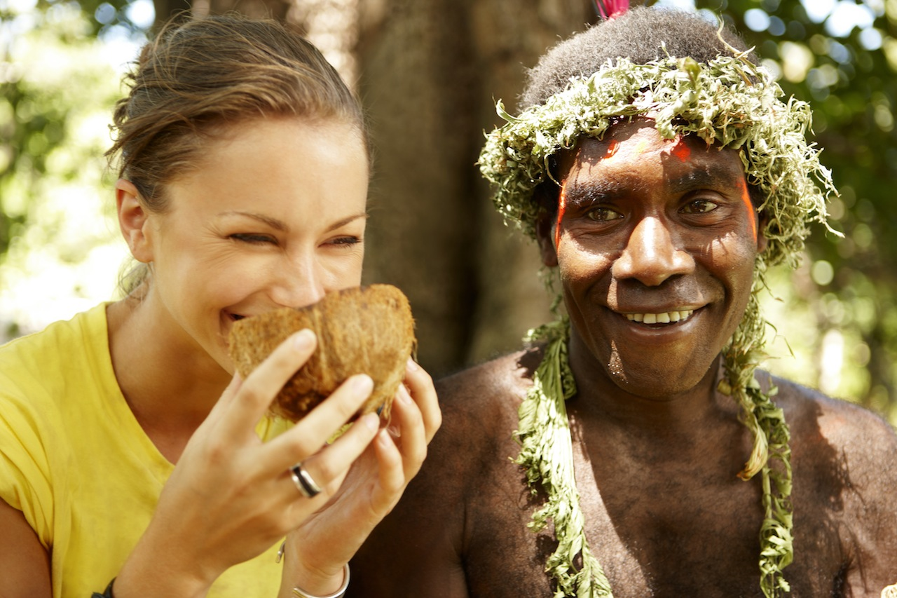 Tanna Island - Vanuatu - Image supplied by the Vanuatu Tourism Office - Photographer David Kirkland