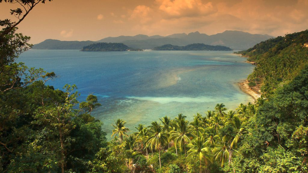 Koh Chang Archipelago in the Gulf of Thailand