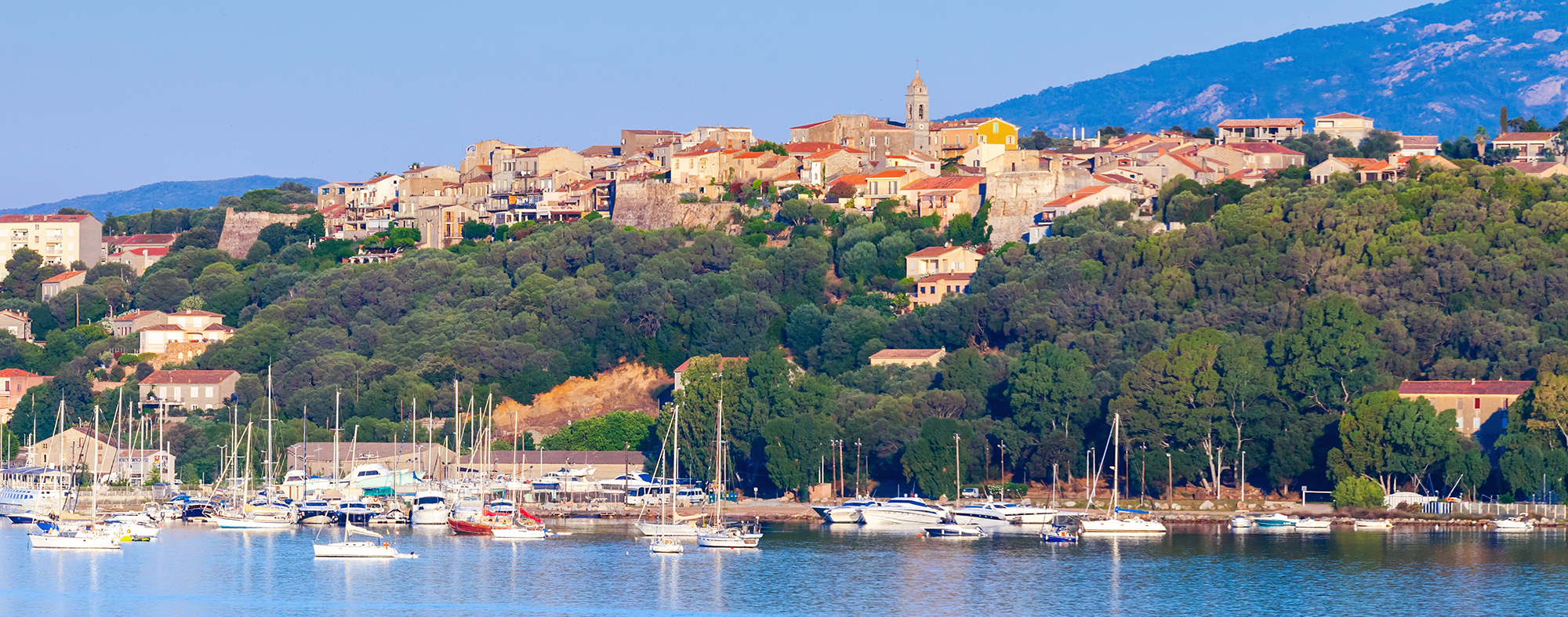 Porto Vecchio is a popular yachting hotspot