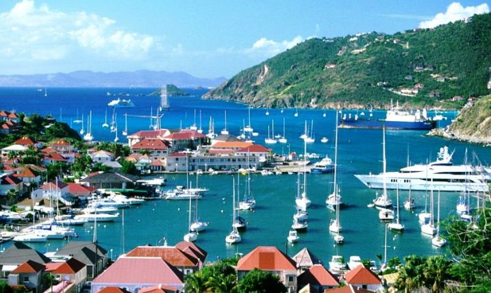 St Bart's Gustavia Luxury Yacht Harbour