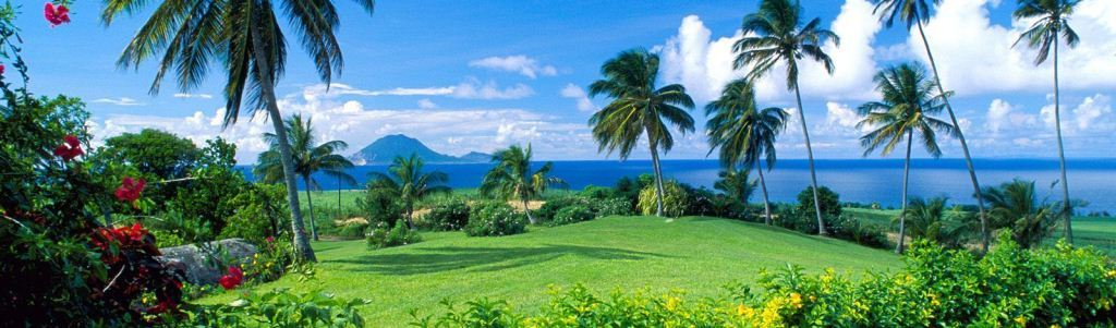 St Kitts and Nevis in the Caribbean
