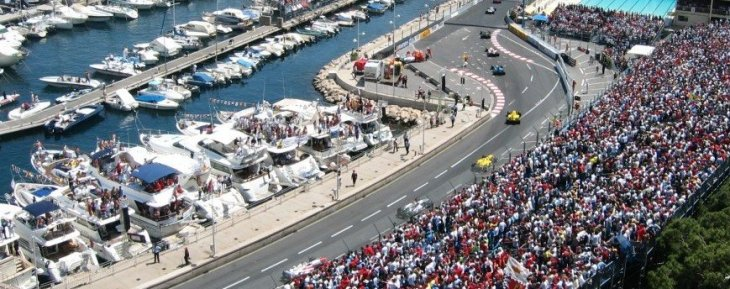 The Monaco Grand Prix - Yachts at the Port Section