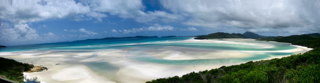 Whitehaven Beach on Whitsunday Island - Credit Ben Mallon