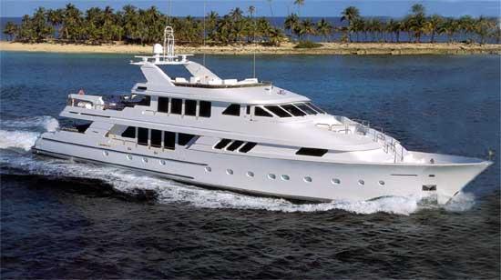 Luxury yacht Big Play