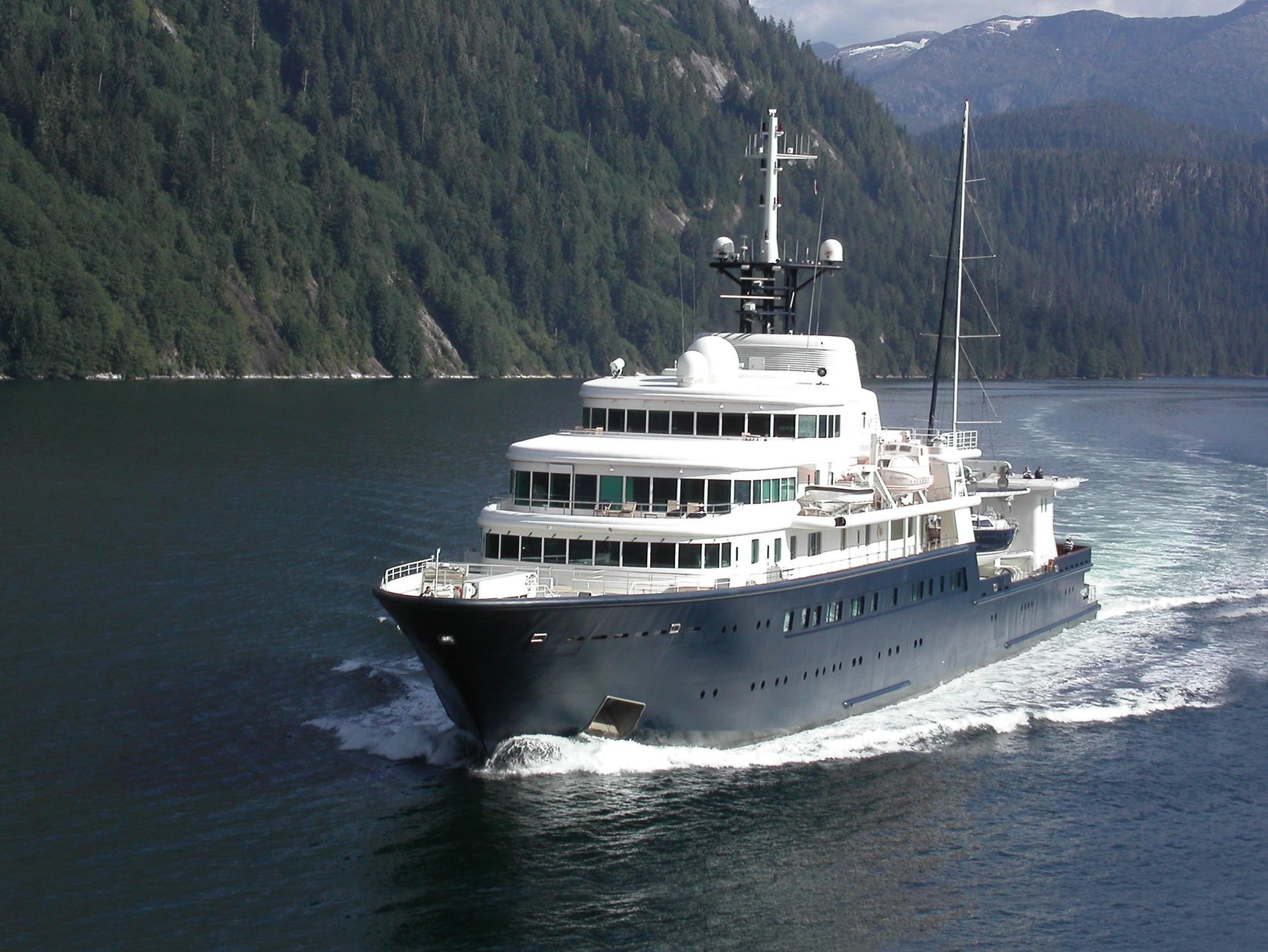 Yacht Le Grand Bleu Bremer Vulkan Charterworld Luxury Superyacht Charters