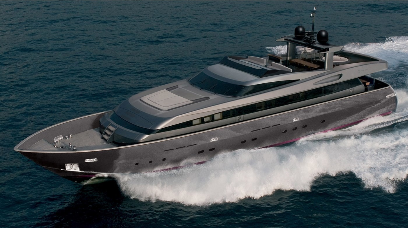 The 34m Yacht IROCK