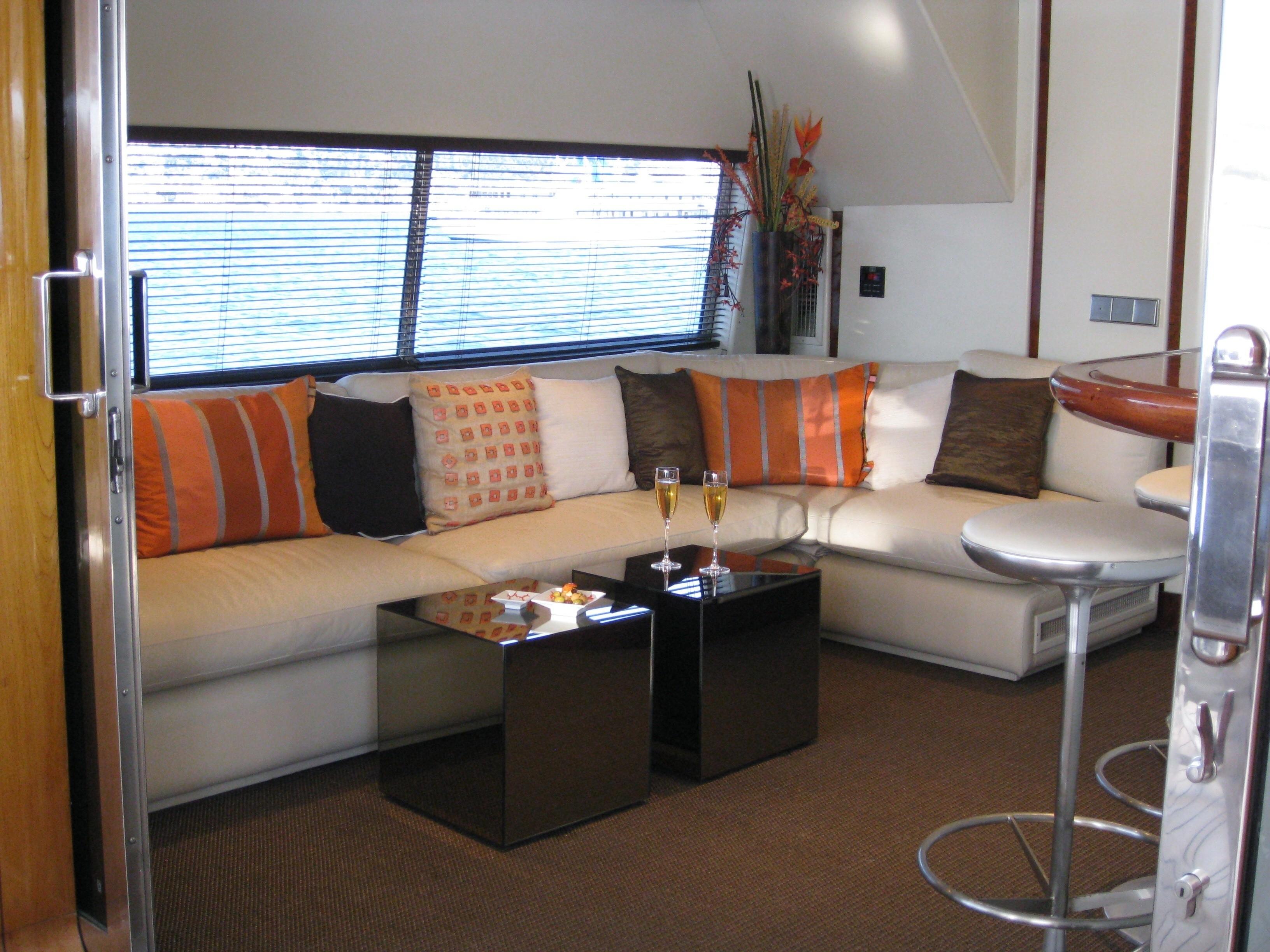 Sky Lounge On Board Yacht COSTA MAGNA