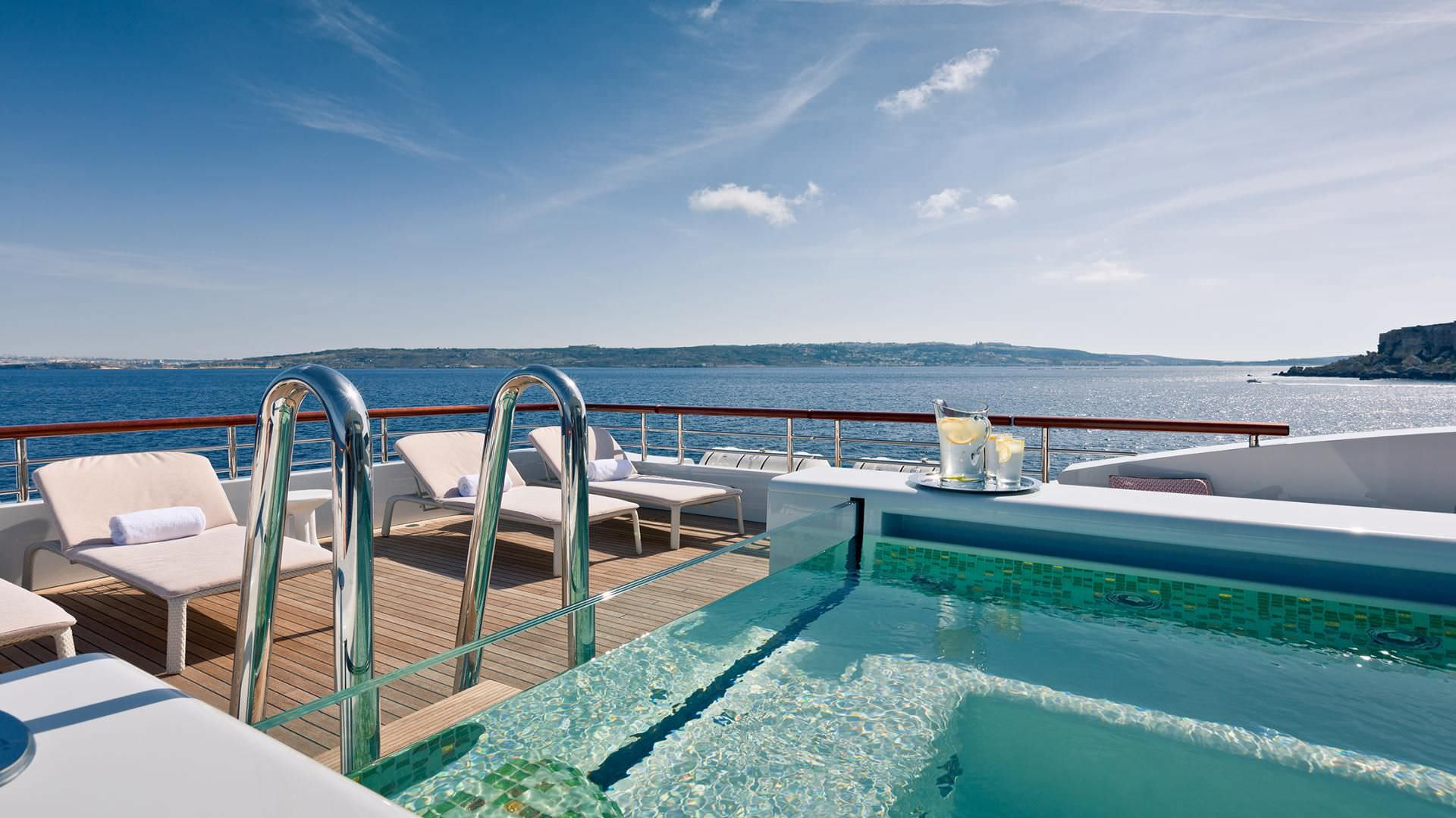 World Most Beautiful Bbq Table 56 Meter 2013 Yacht Charter Details Benetti