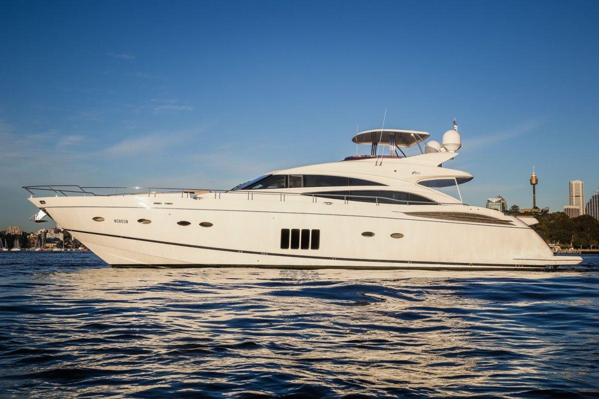 Princess V85 Yacht Charter Details Motor Yacht