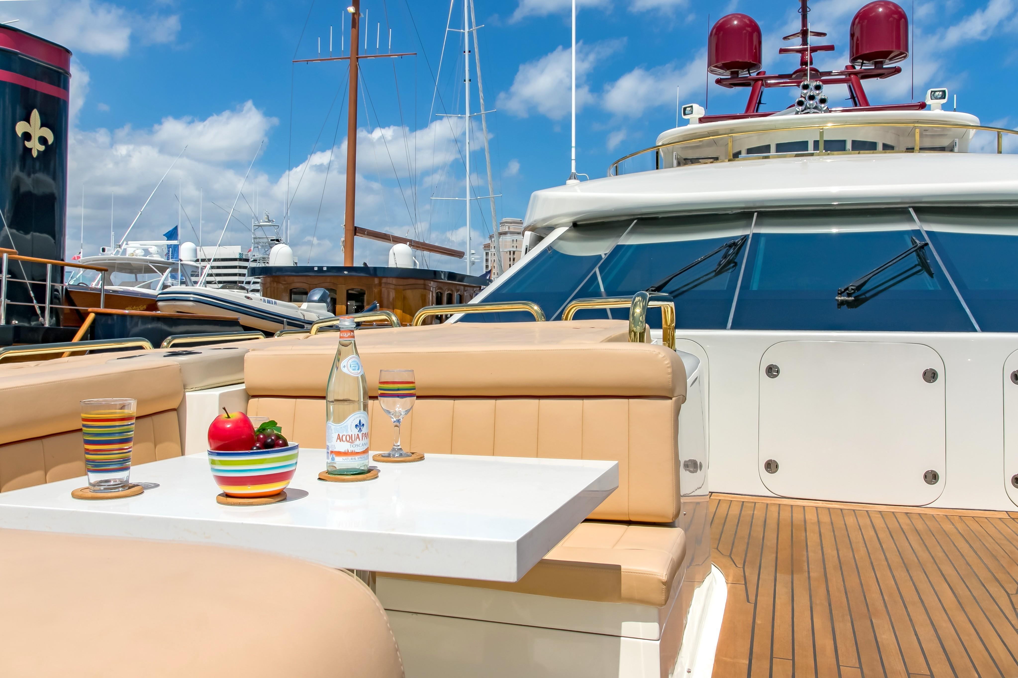 Bridge Deck Image Gallery Luxury Yacht Browser By