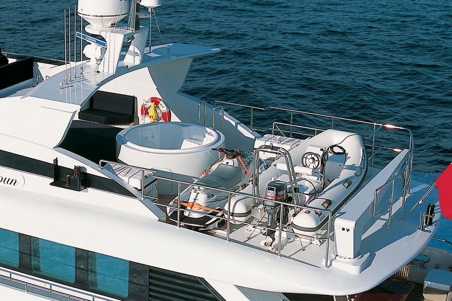 yacht ammoun of london  heesen yachts