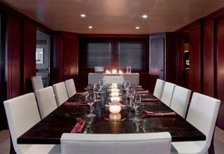 Eating/dining Furniture On Yacht CYAN