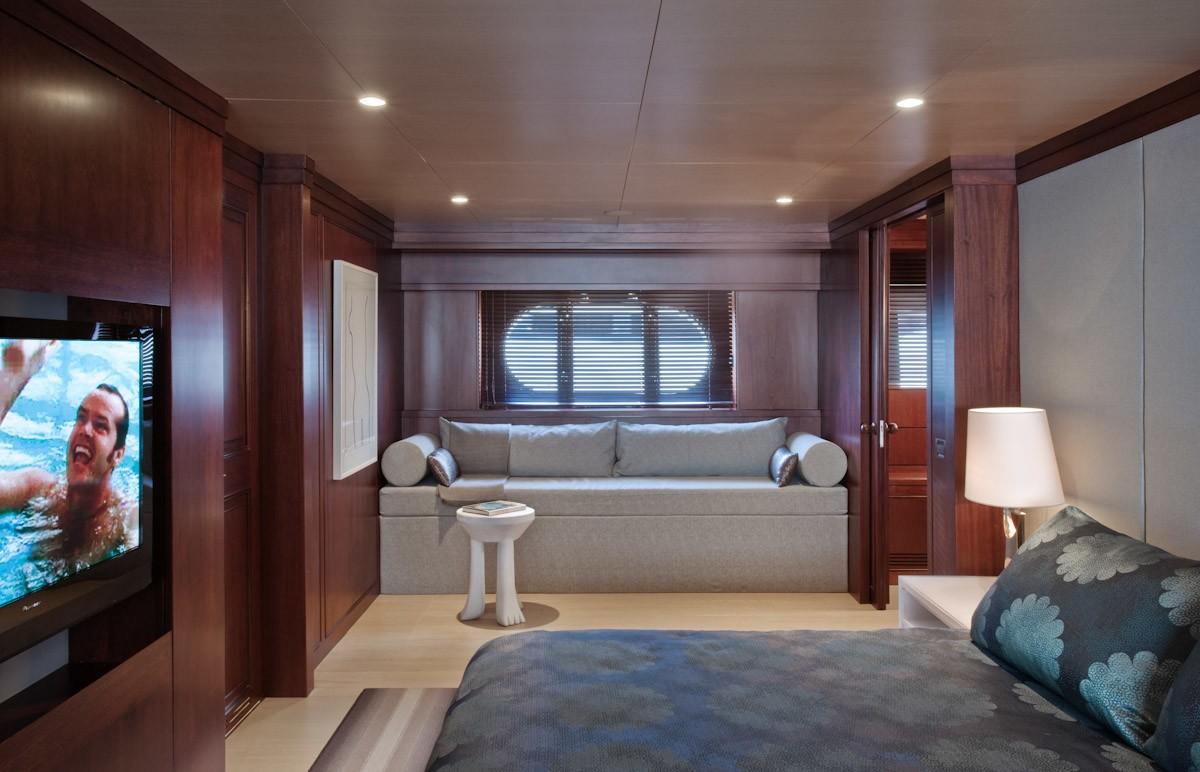 Main Master Cabin On Board Yacht CYAN