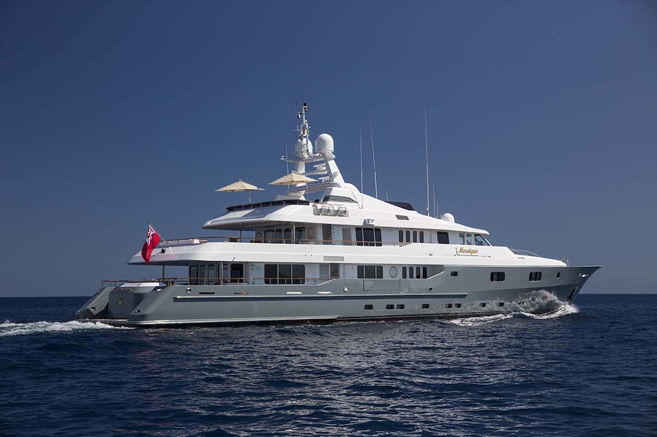 mosaique yacht charter details, turquoise yachts   charterworld