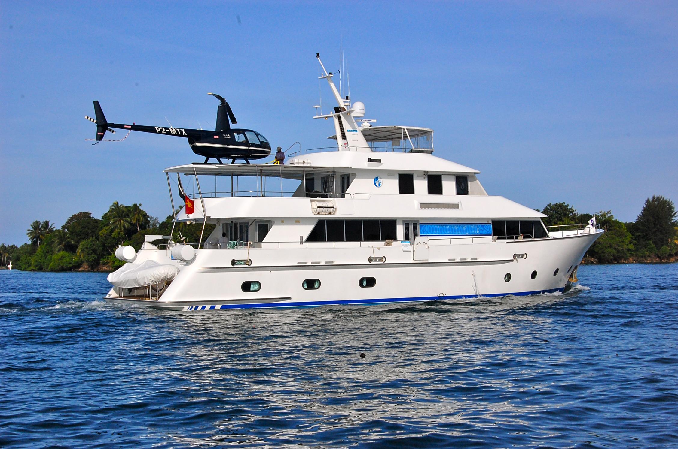 kalibobo spirit yacht charter details papua new guinea. Black Bedroom Furniture Sets. Home Design Ideas