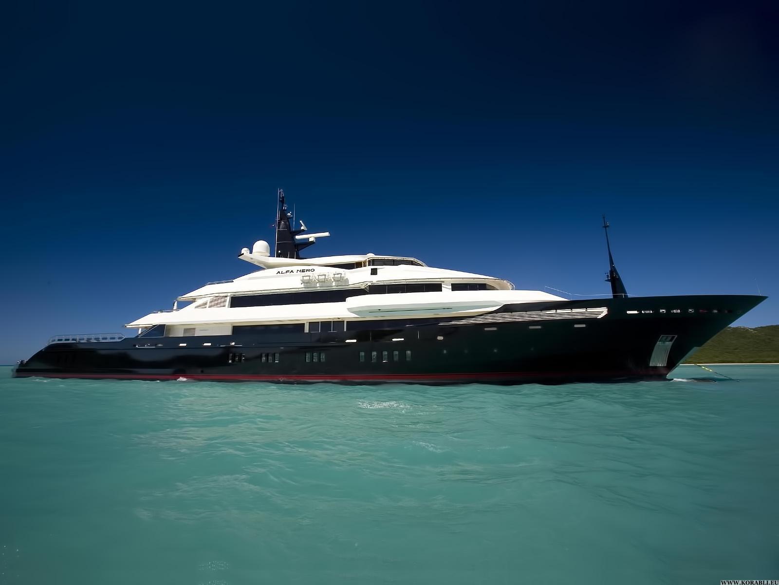 Alfa nero yacht charter details oceanco charterworld - Salon du yacht monaco ...