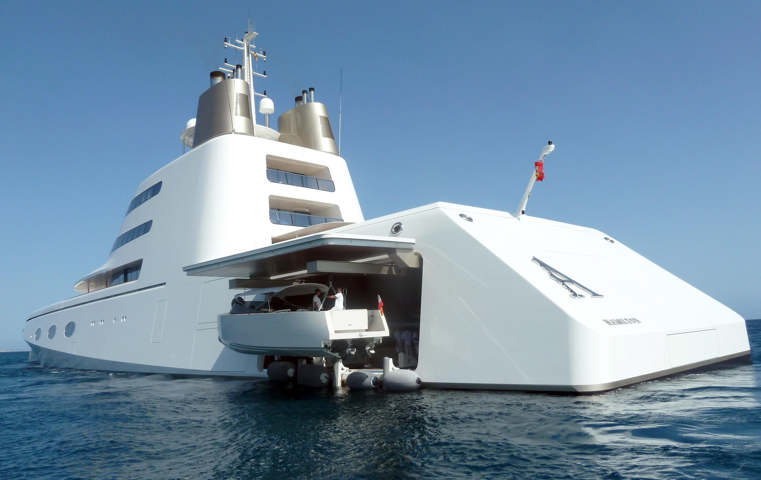 Yacht A A Blohm Voss Superyacht Charterworld Luxury