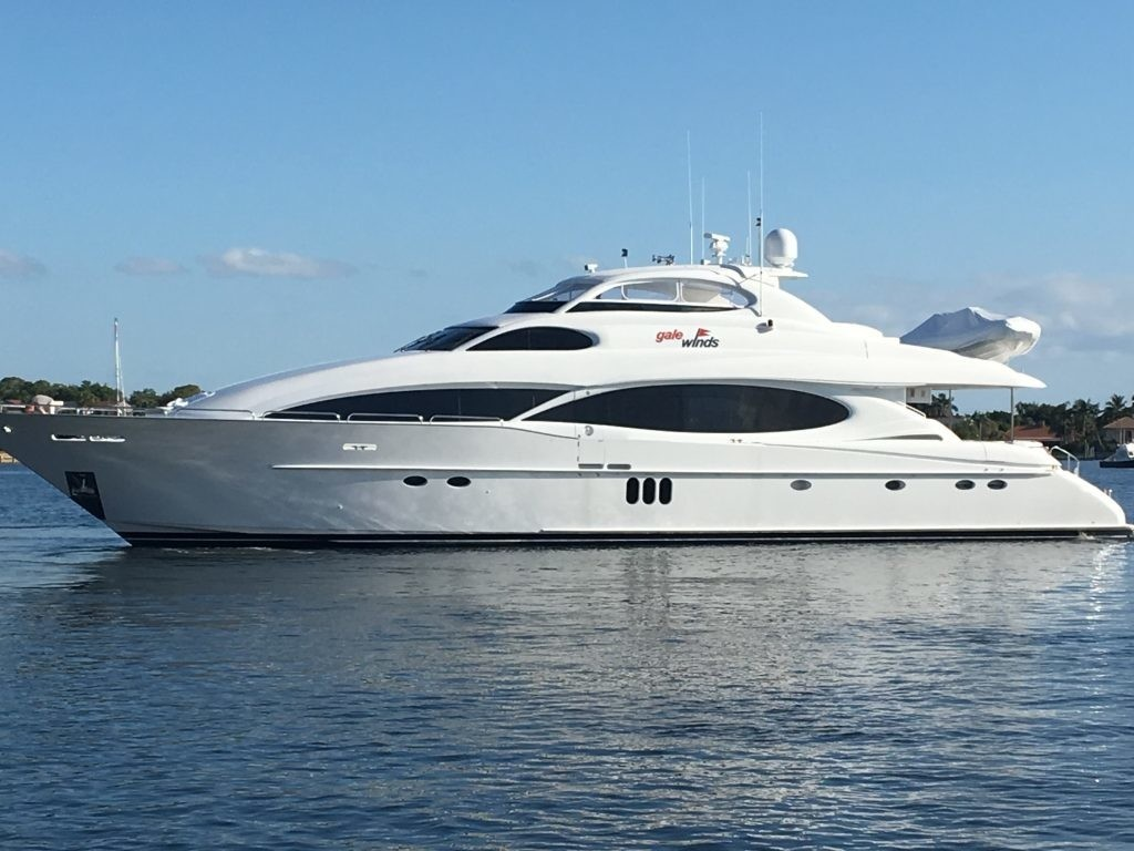 GALE WINDS Yacht Charter Details, Lazzara 106 ...