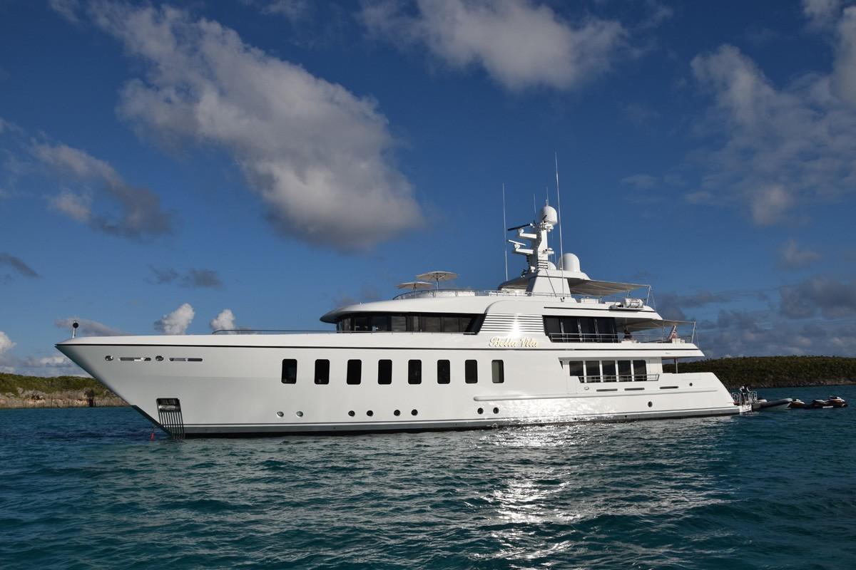 Revolutionary 180m superyacht symmetry concept by sinot for The bella vita
