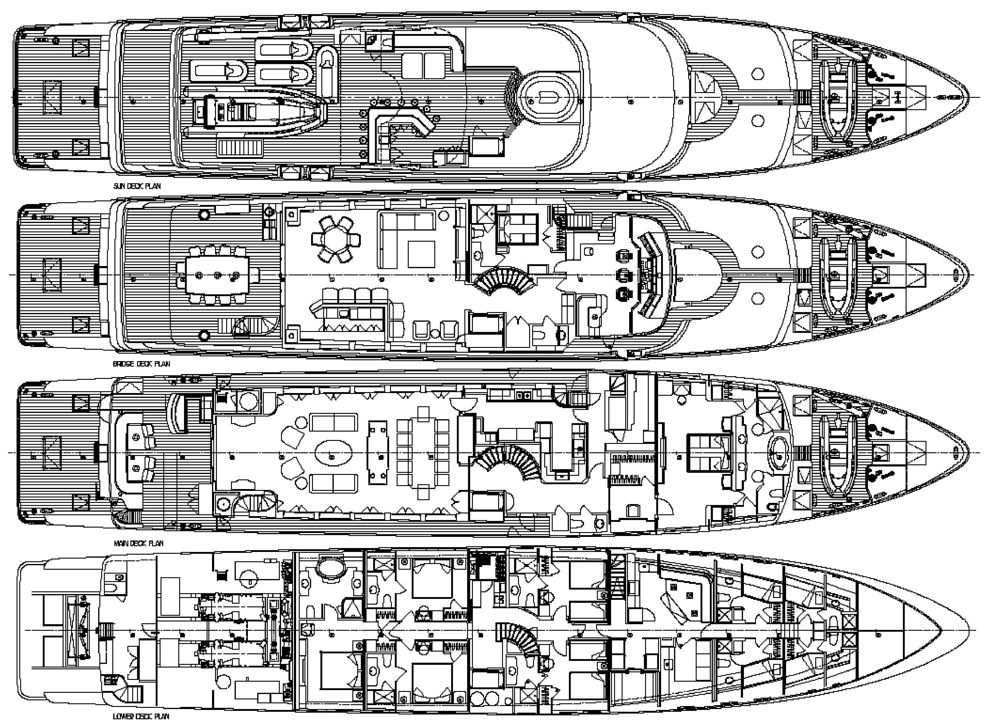 Christensen image gallery layout helm station luxury for The world deck plans