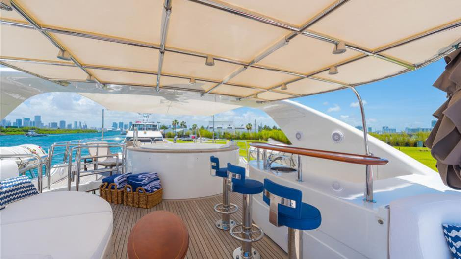 Gorgeous 50m Fb801 Super Yacht Vica By Benetti Yacht