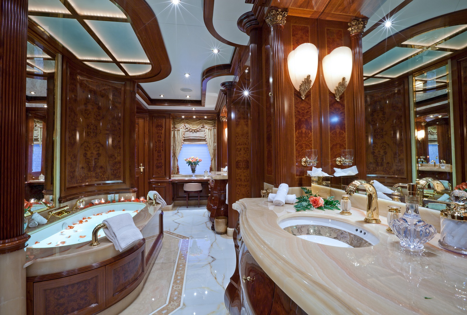 Master Bathroom Image Gallery Luxury Yacht Browser By
