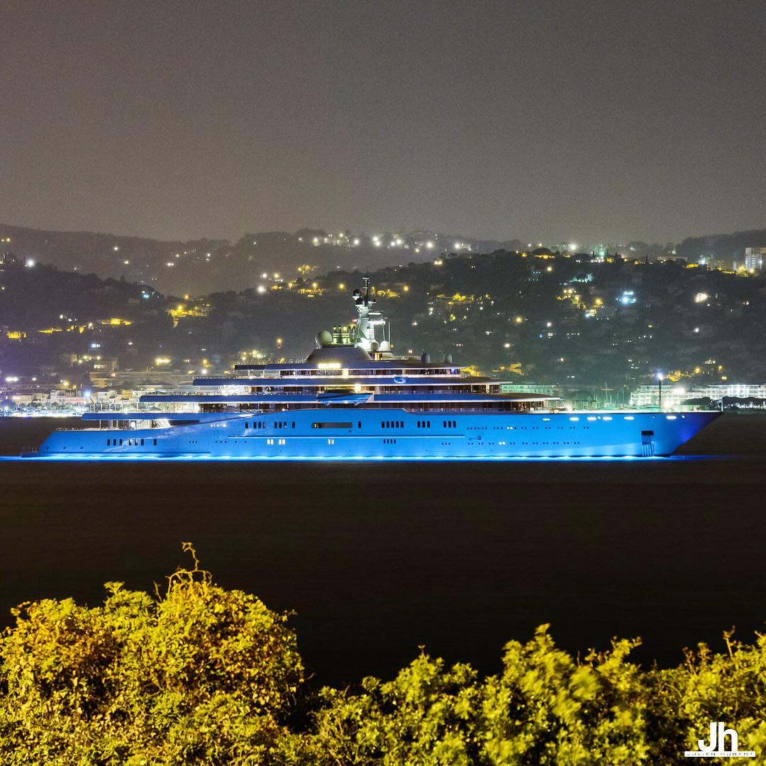 Yachts At Night Night Image Gal...