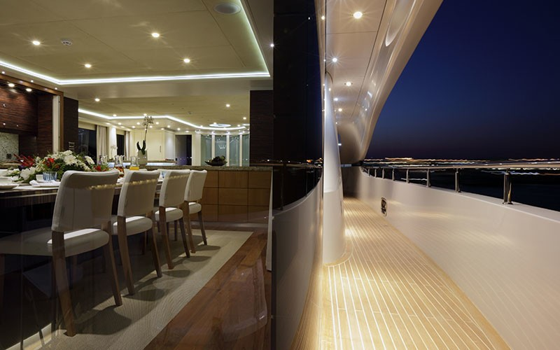 Motor yacht monaco salon view 2 luxury yacht browser - Salon du yacht monaco ...