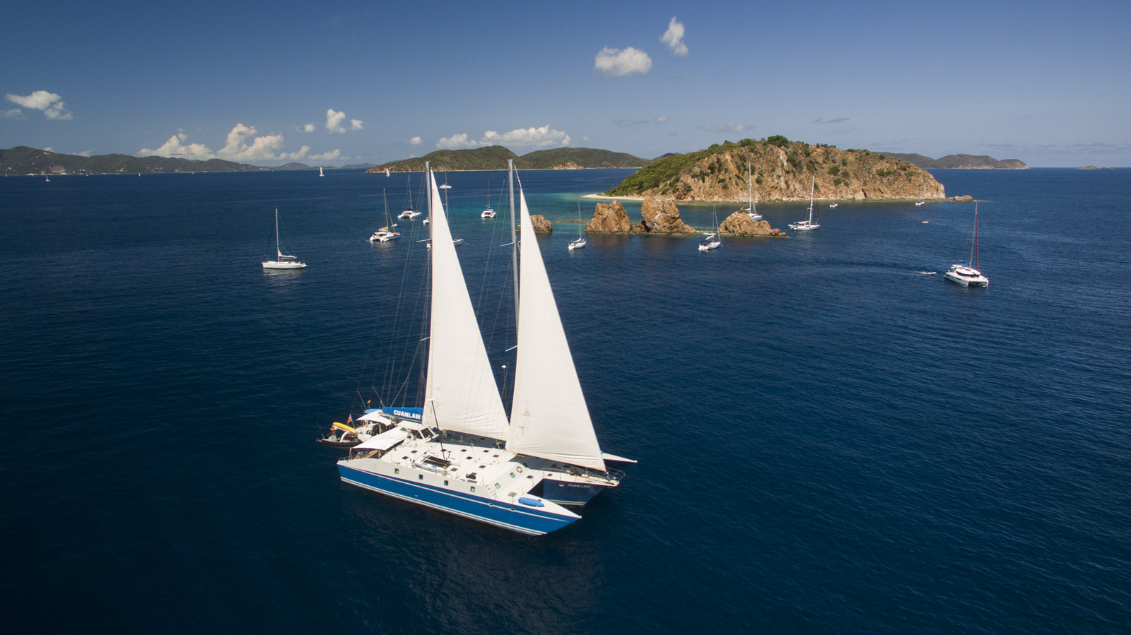Sailing Charter – A Coast Line With Hundreds of Uninhabited Islands