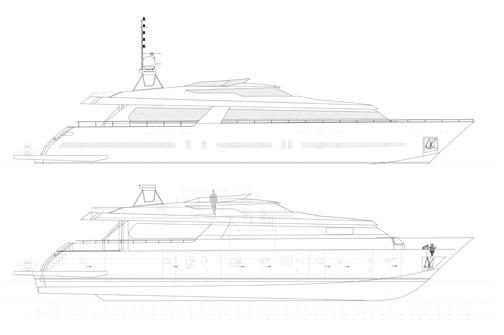 The 34m Yacht TUTKU