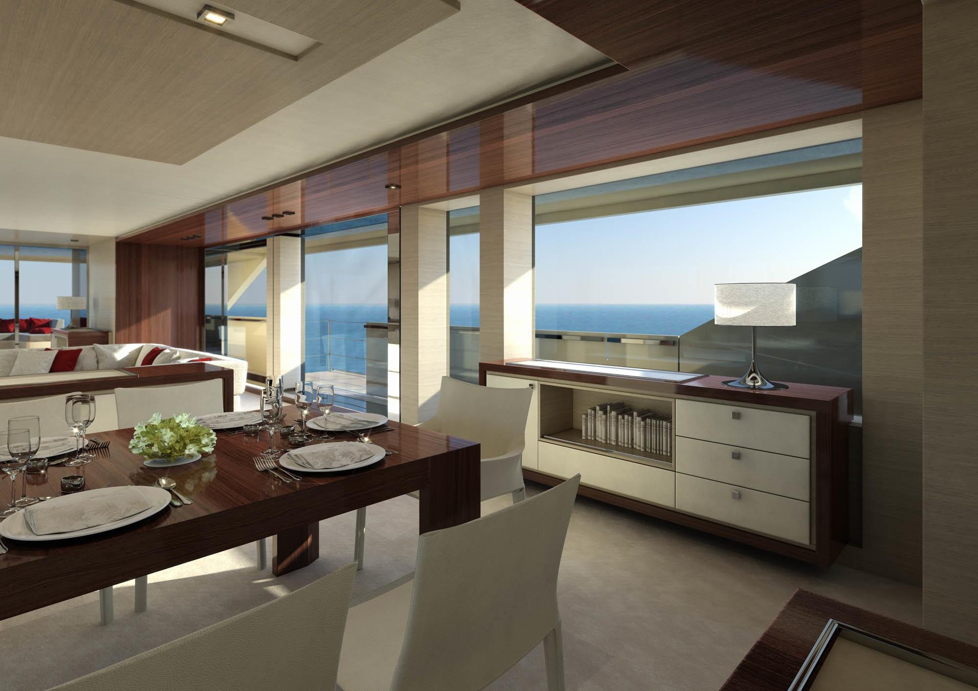 yacht serenity a mondomarine sf40 superyacht