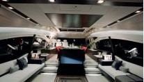 Azimut 72S Motor Yacht  Salon by Night