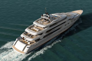 Kaiser-85 Yacht by KaiserWerft - designed by Luca Dini