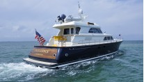 LYMAN MORSE Yacht EXCELLENCE -  Aft View