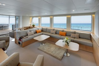 Motor yacht Black Pearl Salon