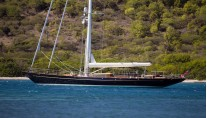 1- Royal Huisman sailing yacht Pumula - Photo Cory Silken