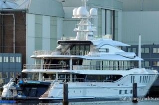 1-AMELS 242 Project FREEFALL - aft view - Photo by Dutchmegayachts